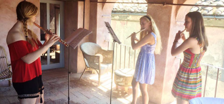 Flutes in Tuscany 2016