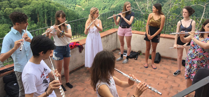 Flutes in Tuscany 2017