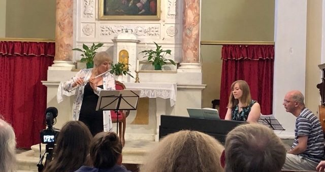 Flutes in Tuscany 2019 – Philippa Davies recital